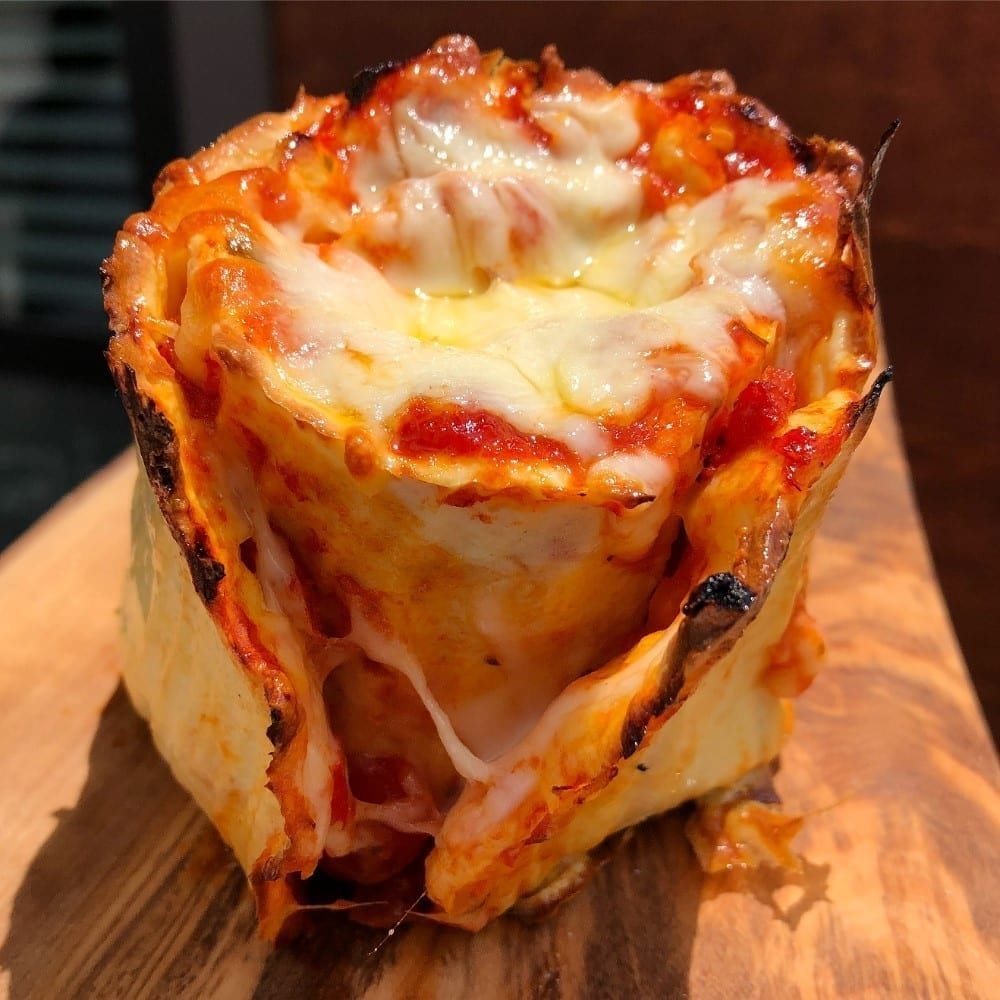 Low Carb XL Pizza Roll