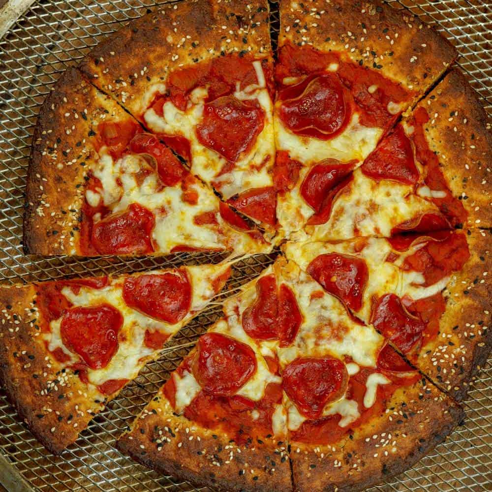 Everything Bagel Pepperoni Pizza