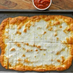 Garlic Cheesy Breadsticks