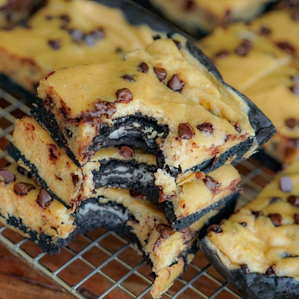 Protein Slutty Brownies