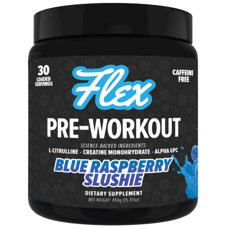 Blue-Raspberry Pre Workout