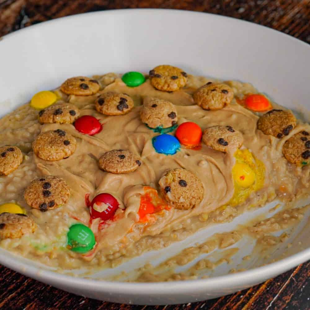 PB M&M Cookie Protein Oatmeal (1)